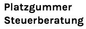 Platzgummer Steuerberatung Logo